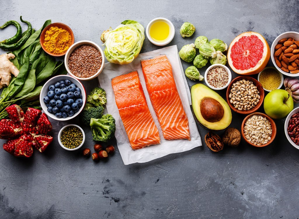 What foods you should eat or reduce for a healthy